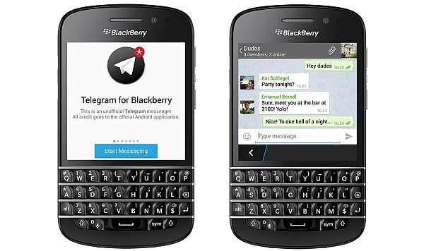 Telegram para Blackberry