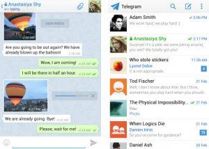 Telegram, el nuevo servicio de mensajería instantánea