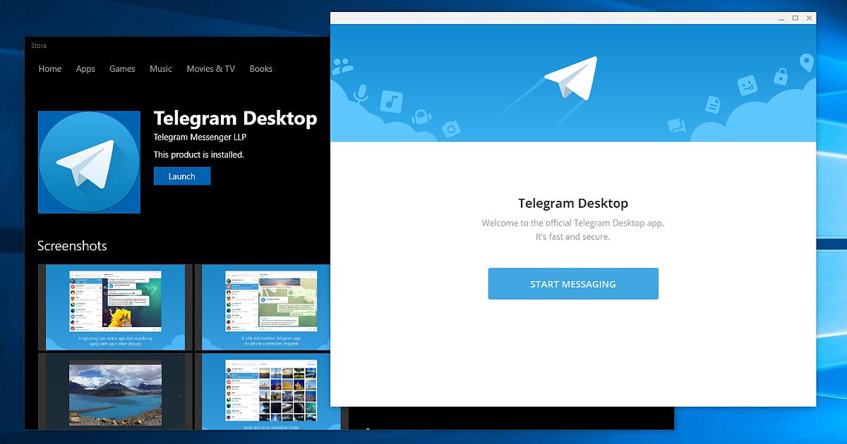 Telegram para Windows 1
